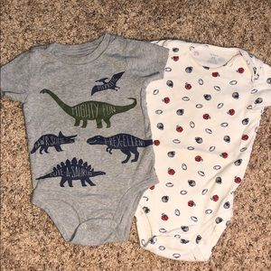 Carter's Baby Infant Bodysuit Size 18 & 24 months